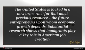 Eric Ries quote : The United States is ...