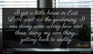 Adam Ant quote : I got a little ...
