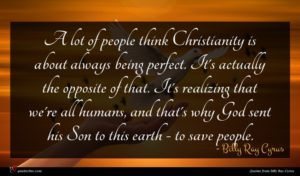 Billy Ray Cyrus quote : A lot of people ...