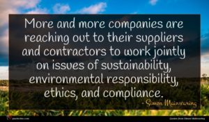 Simon Mainwaring quote : More and more companies ...