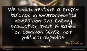 Mac Thornberry quote : We should restore a ...