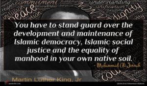 Muhammad Ali Jinnah quote : You have to stand ...