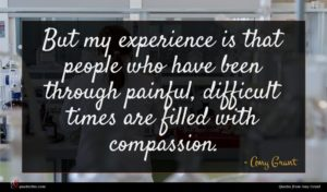 Amy Grant quote : But my experience is ...
