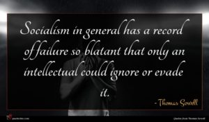 Thomas Sowell quote : Socialism in general has ...