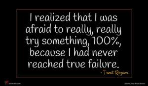 Trent Reznor quote : I realized that I ...