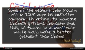 David Limbaugh quote : Some of the reasons ...