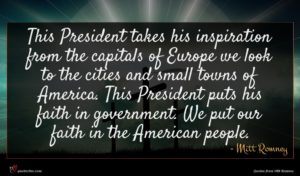 Mitt Romney quote : This President takes his ...