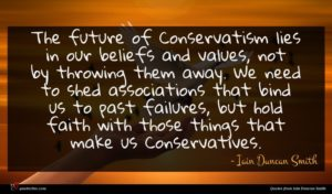 Iain Duncan Smith quote : The future of Conservatism ...