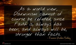Francis Parker Yockey quote : As a world view ...