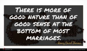 Henry David Thoreau quote : There is more of ...