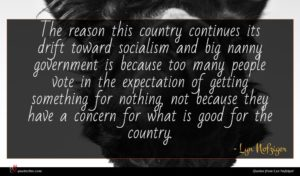Lyn Nofziger quote : The reason this country ...