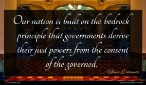 Adrian Cronauer quote : Our nation is built ...