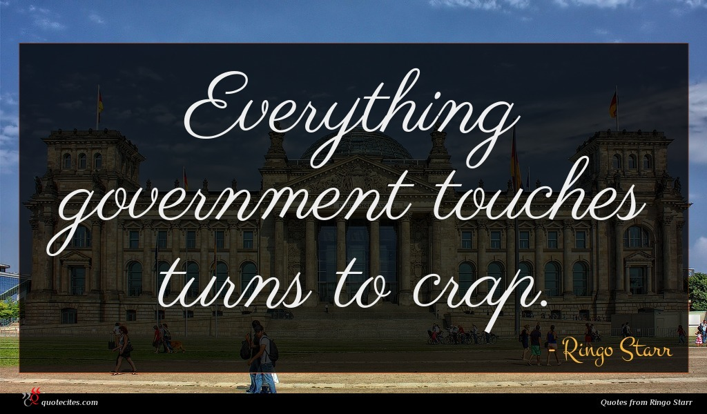Everything government touches turns to crap.