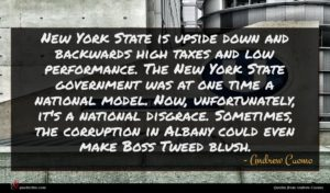 Andrew Cuomo quote : New York State is ...