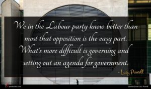 Lucy Powell quote : We in the Labour ...