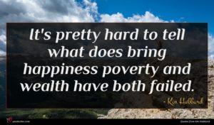 Kin Hubbard quote : It's pretty hard to ...