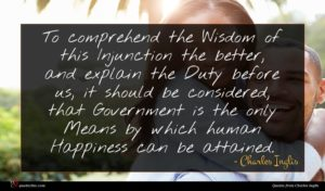 Charles Inglis quote : To comprehend the Wisdom ...