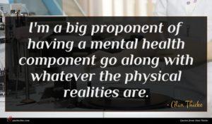Alan Thicke quote : I'm a big proponent ...