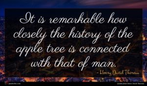Henry David Thoreau quote : It is remarkable how ...