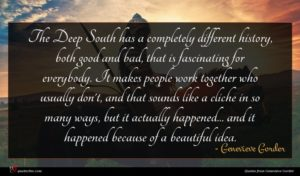 Genevieve Gorder quote : The Deep South has ...