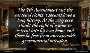 Potter Stewart quote : The th Amendment and ...
