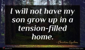 Christina Aguilera quote : I will not have ...