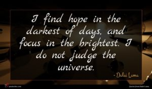 Dalai Lama quote : I find hope in ...